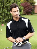Men's Eperformance Color-block Textured Polo Shirt Thumbnail