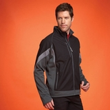 Men's Jozani Hybrid Softshell Black with Grey Storm and Steel Grey Thumbnail