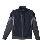 Men's Jozani Hybrid Softshell Navy with Grey Storm and Steel Grey Thumbnail