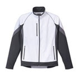 Men's Jozani Hybrid Softshell White with Grey Storm and Steel Grey Thumbnail