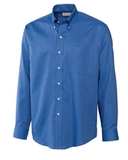 Cutter & Buck Men's Big & Tall Long Sleeve Epic Easy Care Nailshead Dress Shirt Atlas Thumbnail