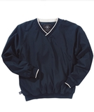 Men's Legend Windshirt Navy with White Thumbnail