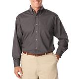 Men's Long Sleeve Easy Care Poplin Graphite Thumbnail