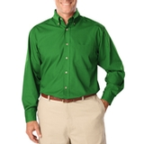 Men's Long Sleeve Easy Care Poplin Kelly Thumbnail
