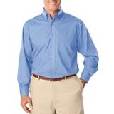 Men's Long Sleeve Easy Care Poplin Light Blue Thumbnail