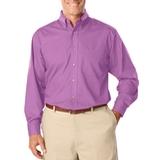 Men's Long Sleeve Easy Care Poplin Mulberry Thumbnail