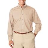 Men's Long Sleeve Easy Care Poplin Natural Thumbnail