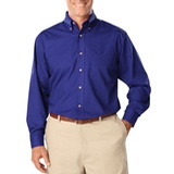 Men's Long Sleeve Easy Care Poplin Royal Thumbnail