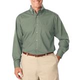 Men's Long Sleeve Easy Care Poplin Sage Thumbnail