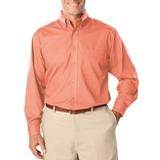 Men's Long Sleeve Easy Care Poplin Salmon Thumbnail