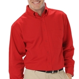 Men's Long Sleeve Easy Care Poplin With Matching Buttons Thumbnail