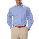 Men's Long Sleeve Teflon Treated Twill Light Blue Thumbnail