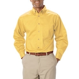 Men's Long Sleeve Teflon Treated Twill Maize Thumbnail