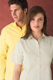 Men's Long Sleeve Twill Dress Shirt Thumbnail