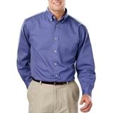 Men's 100% Cotton L/S Twill Shirt French Blue Thumbnail