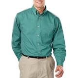 Men's 100% Cotton L/S Twill Shirt Jade Thumbnail
