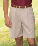 Men's Microfiber Soft Touch Shorts Tan Thumbnail