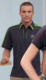 Men's Performance Polyester Pique Polo Shirt Thumbnail