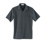 Men's Poly Stretch Woven Shirt With U. V. Protection Dark Graphite Thumbnail