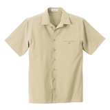 Men's Poly Stretch Woven Shirt With U. V. Protection Sand Dune Thumbnail