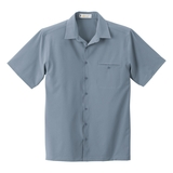 Men's Poly Stretch Woven Shirt With U. V. Protection Vintage Blue Thumbnail