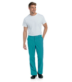 Men's Pre-Washed Cargo Pant Teal Thumbnail