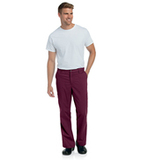 Men's Pre-Washed Cargo Pant Wine Thumbnail