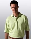 Men's Short Sleeve All Cotton Pique Polo Thumbnail
