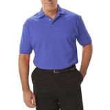 Men's Short Sleeve Pique Polo Shirt French Blue Thumbnail
