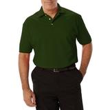 Men's Short Sleeve Pique Polo Shirt Hunter Thumbnail
