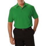 Men's Short Sleeve Pique Polo Shirt Kelly Thumbnail