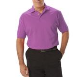 Men's Short Sleeve Pique Polo Shirt Mulberry Thumbnail