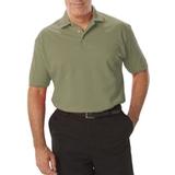 Men's Short Sleeve Pique Polo Shirt Sage Thumbnail