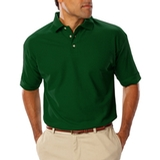 Men's Short Sleeve Teflon Treated Pique Polo Hunter Thumbnail
