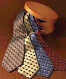 Men's Silk Honeycomb Tie Thumbnail
