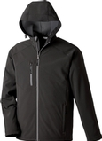 Men's Soft Shell Jacket With Hood Thumbnail