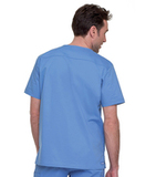 Men's Stretch V-Neck Top Ceil Blue (BCP) Thumbnail