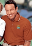 Men's Tipped Collar Cuff Pique Polo Shirt Thumbnail