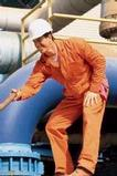 Men's Twill Action Back Coverall With Chest Pockets Thumbnail