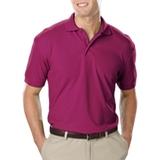 Men's Value Soft Touch Pique Polo Berry Thumbnail