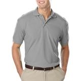 Men's Value Soft Touch Pique Polo Grey Thumbnail