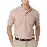 Men's Value Soft Touch Pique Polo Natural Thumbnail