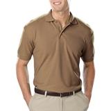 Men's Value Soft Touch Pique Polo Tan Thumbnail