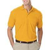 Men's Value Soft Touch Pique Polo Yellow Thumbnail