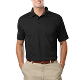 Men's Value Wicking Polo Black Thumbnail