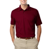 Men's Value Wicking Polo Burgundy Thumbnail