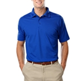 Men's Value Wicking Polo Royal Thumbnail