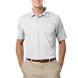 Men's Value Wicking Polo White Thumbnail