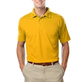 Men's Value Wicking Polo Yellow Thumbnail