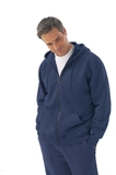 Men's Vintage Hooded Zip Jacket Thumbnail